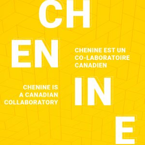 Image reads that CHENINE is a Canadian collaboratory.